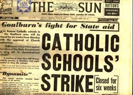 Goulburn Catholic strike