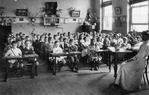 Classroom in Cleveland St Public School