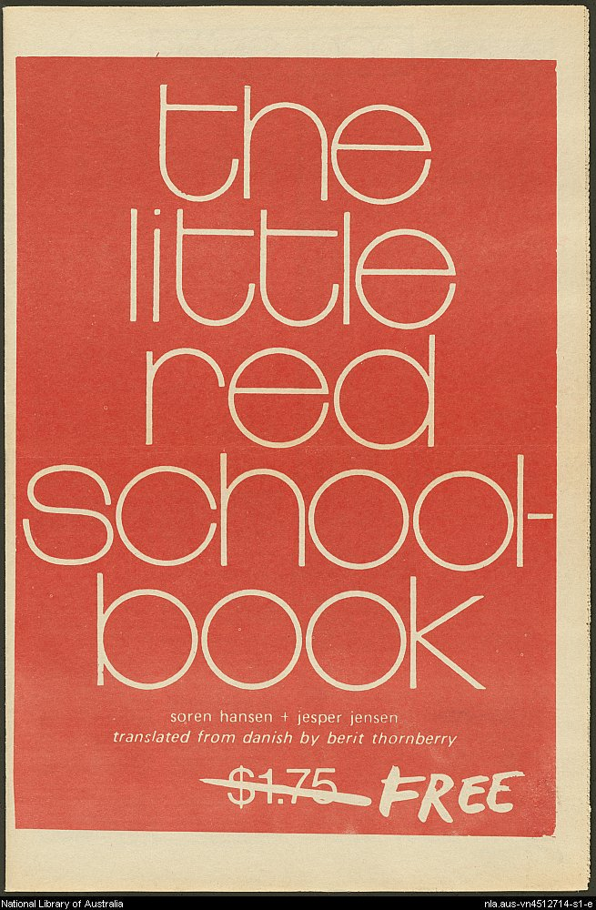 little red schoolbook