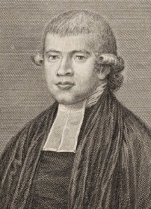 Richard Johnson as first colonial chaplain had the responsibility for organising the first schools and appointing teachers. Image: Mitchell Library, NSW.