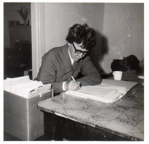Figure 2 Jean Blackburn working on the SA Karmel inquiry, 1969. Photo courtesy Susan Blackburn.