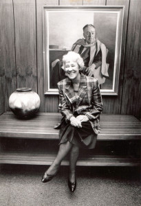 Figure 6: Blackburn as foundation Chancellor of the University of Canberra, 1990-1991. Photo courtesy, University of Canberra.