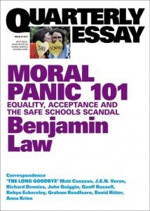 Cover of Quarterly Essay magazine, 2017