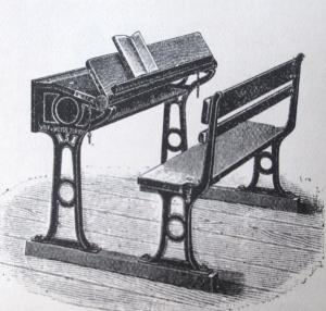 Zurich School Desk. Source: First report, p. 432 (Main section)