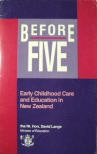 Cover of the Before Five report (1988)