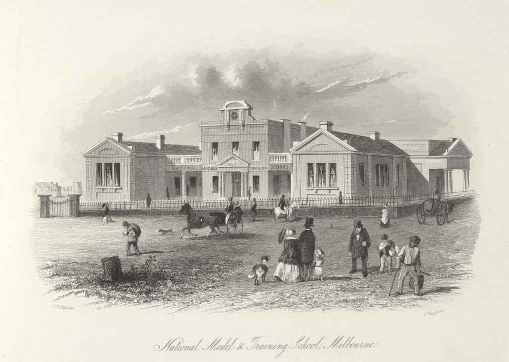 National Model and Training School, Melbourne, 1857