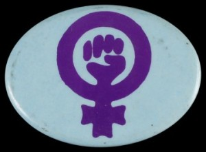 Women's Liberation badge, 1970s