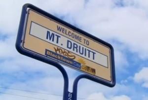 Mt D sign