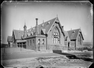 Newcastle High School established 1906 at Newcastle Public School. Photographed by Ralph Snowball, 1886. Courtesy of Cultural Collections, University of Newcastle Archives, NSW