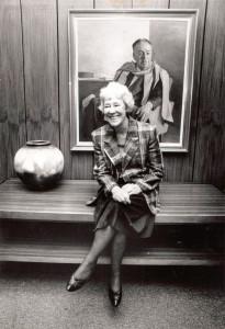 Figure 6: Blackburn as foundation Chancellor of the University of Canberra, 1990-1991. Photo courtesy, University of Canberra.