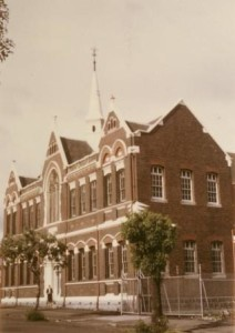 Napier Street State School, Fitzroy SS2511, home of CSV 1932-1969. In possession of Virtual School Victoria. Used with permission.]