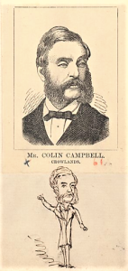 Colin Campbell in 1874. Artist: Edward Gilks. Courtesy State Library of Victoria