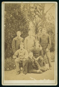 Boys from the one public grammar school outside of Melbourne, Geelong Grammar. 1880. Courtesy State Library of Victoria