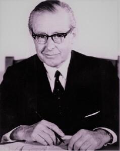 Harold Wyndham, Chairman of the Committee. SLNSW.